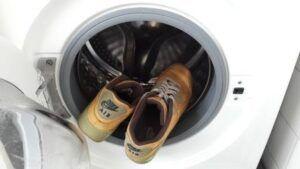 air max in de wasmachine