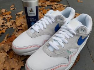 sneakers poetsen