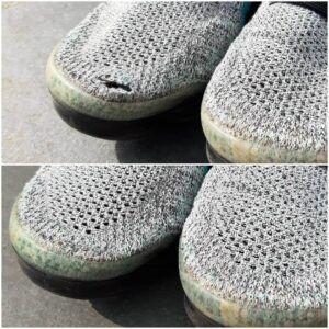 sneaker reparatie stikwerk