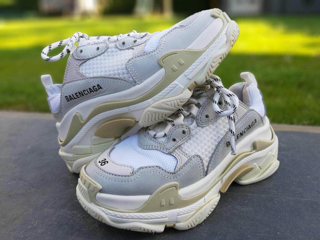 exclusieve sneaker schoon