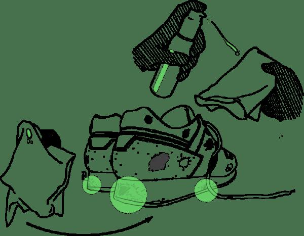 Carbon Lab Midsole Cleaner