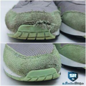 schoen reparatie suede