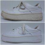 sneakers ontgelen