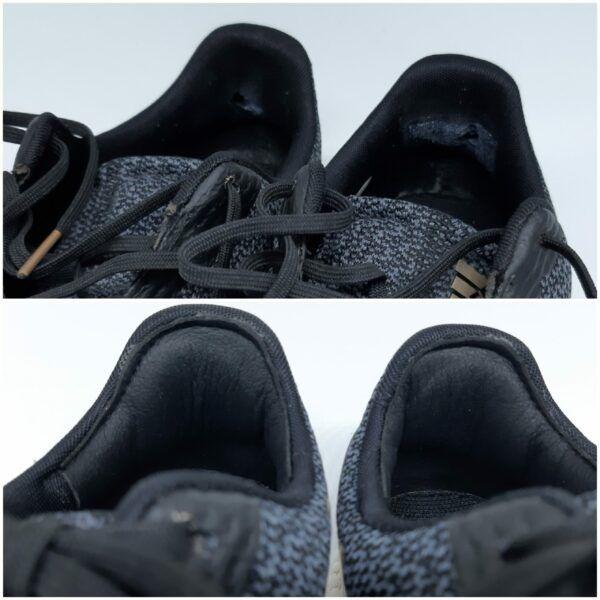 binnenkant hak schoen kapot